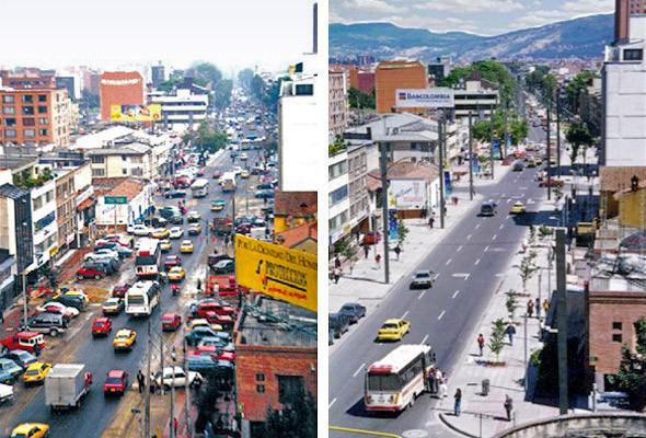 Богота. До і після