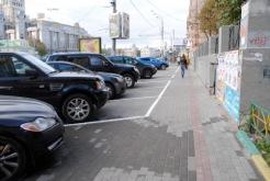 Тротуари і автомобілі