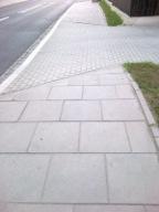 Перетин тротуаром проїзду